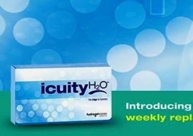 Lancement de nouvelles lentilles souples hebdomadaires Icuity