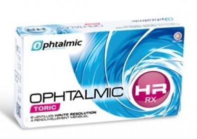 Innovantes lentilles sur mesure pour astigmate: Ophtalmic HR RX Toric