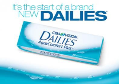 Nouvelles lentilles Dailies pour astigmates ou presbytes