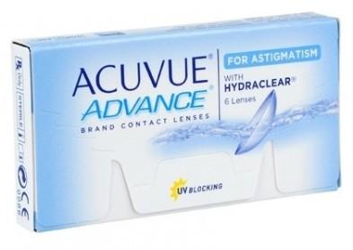 Retrait des lentilles Acuvue Advance for Astigmatism