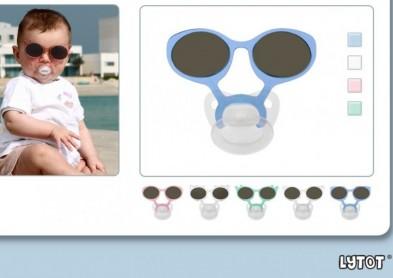 Lytot : des lunettes pour bébé à tétine intégrée