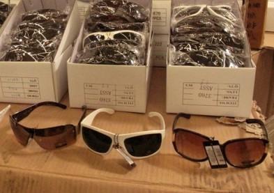 Les contrefaçons de lunettes de soleil sont dangereuses