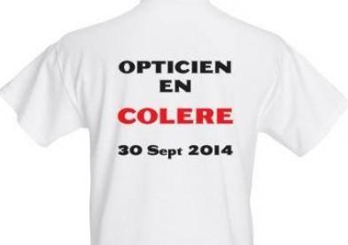 Loi Macron: les opticiens en colère à la manif du 30 septembre