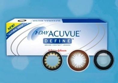 Acuvue Define, de nouvelles lentilles à effet sexy !