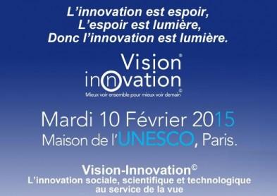 Congrès Vision Innovation 2015: les enjeux de la santé visuelle