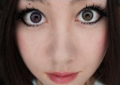 Des caillots dans les yeux à cause de lentilles fantaisie