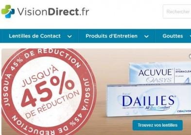E-commerce de lentilles: Vision Direct rachète Visiooptik