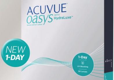 Nouvelle lentilles journalières 1-Day Acuvue Oasys   Infos lentilles ... a504fae9cf9b