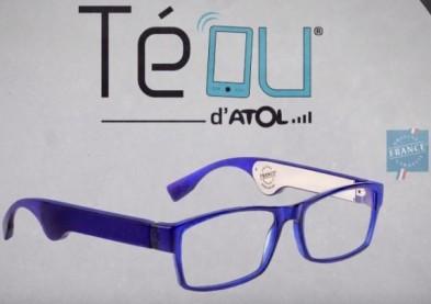 Téou, les lunettes géolocalisables d'Atol en vedette à Las Vegas