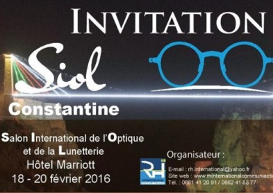 1er Salon de l'Optique-Lunetterie à Constantine