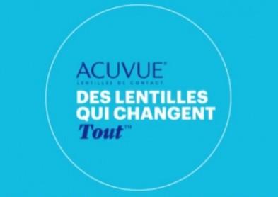 Des lentilles qui changent tout : Le Clip TV Acuvue Oasys 1 Day