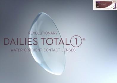 Nouvelles lentilles Dailies Total 1 Multifocal pour presbytes