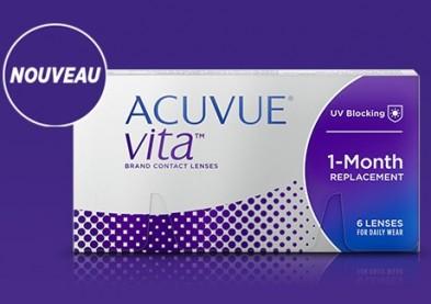 Acuvue Vita: Nouvelle lentille de Johnson & Johnson Vision Care