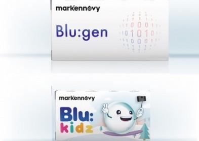 Mark'ennovy Blu:Gen, une nouvelle lentille filtrant la lumière bleue