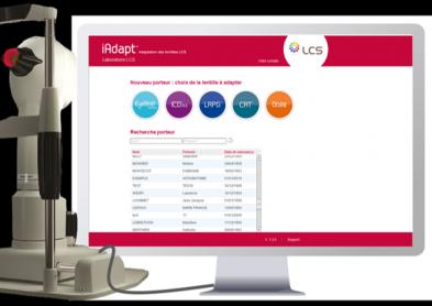 Nouveau logiciel LCS pour l'adaptation de lentilles : iAdapt