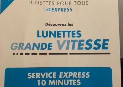 Lunettes à 10 euros en 10 minutes: Une offre mal vue