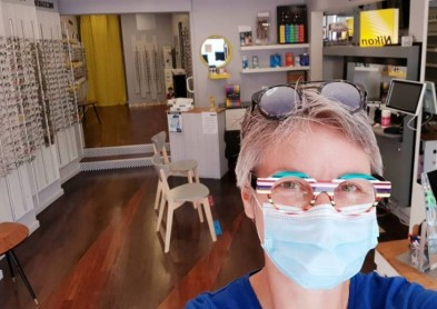 Déconfinement: Distribution de masques sanitaires aux opticiens et orthoptistes